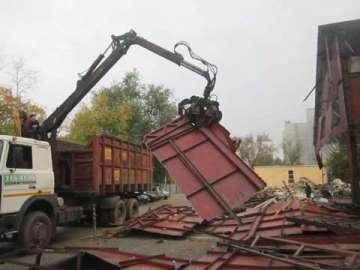 Демонтаж загородных домов, вывоз мусора, уборка участка