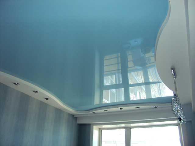 Цветные натяжные потолки - фото, каталог, цены 2019, установка
