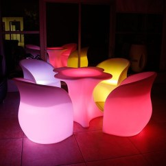 Led Table And Chairs Desk Chair Mat For Carpet Furniture Set Ball Cube Sofa Aliexpress Finds Bar Clover 03 Flower Pot Furnitrue