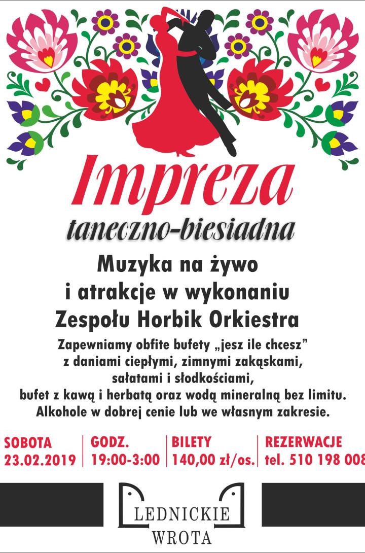 2019.02.23 Impreza taneczno - biesiadna