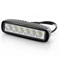 Epistar LED 6 Inch Work Light - Waterproof, 6x3W Bulbs ...