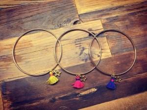 3 bracelets de la boutique de Bichette