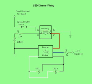 Dimmer Wiring | LED Rider