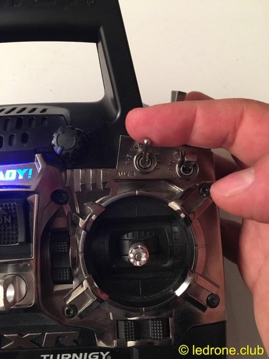 AUX1, 3pos switch