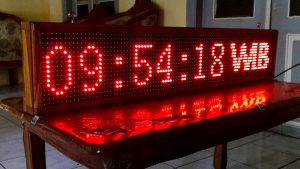 jual led running text di gambir