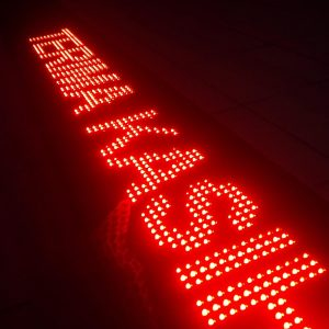 jual led running text di palmerah