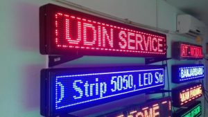 jual led running text di pesanggrahan