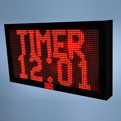 TIMER AND CLOCK DIGITAL DISPLAY