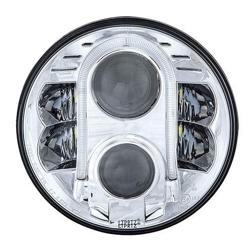 Vehicle LED HeadLight chrome