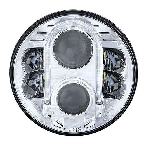 Vehicle LED HeadLight chrome