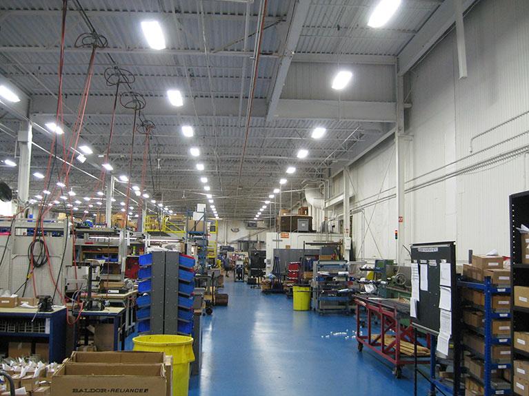energy efficient led warehouse lighting