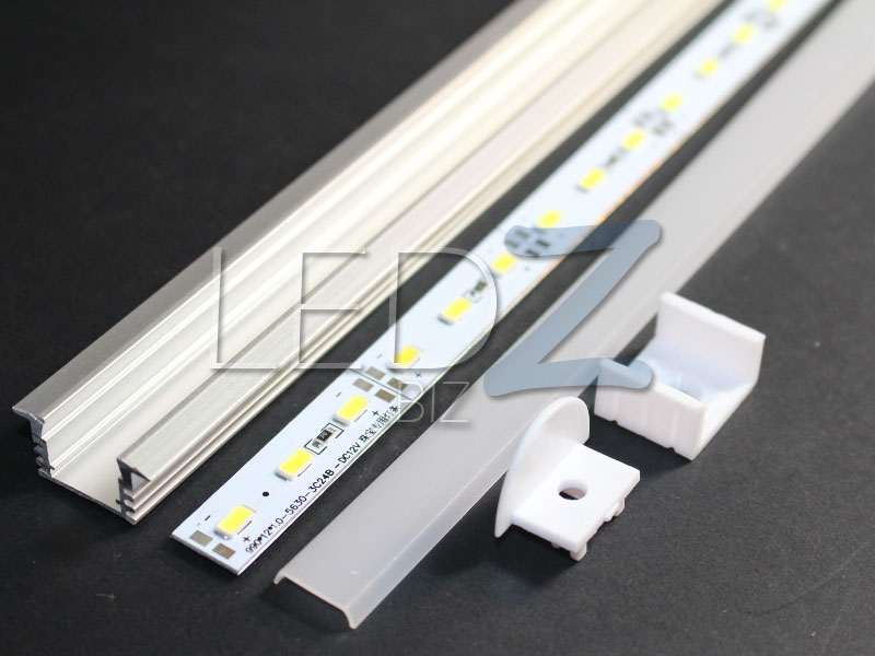 LEDZBIZ  40 Aluminum Channel Diffuser Super Bright LED