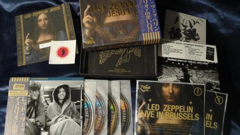 Led Zeppelin Empress Valley Jesus bootleg