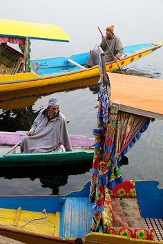 Houseboat on Nageen Lake, Kashmir, Srinagar, India 160 - Photo from Flickr