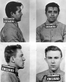 Dick Hickock & Perry Smith- Clutter murderers. Saved from buenleerigp.blogspot.mx