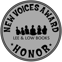Lee & Low books New Voices Award Honor seal