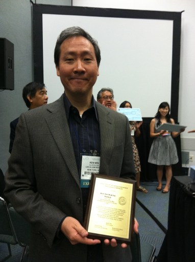 Ken Min and APALA award