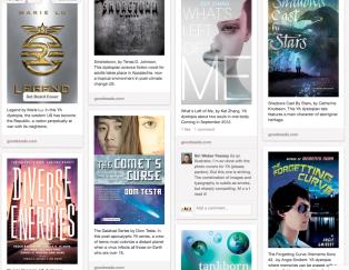 Diverse Dystopias book list