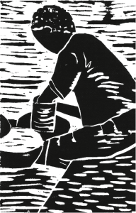 Illustration from Etched in Clay