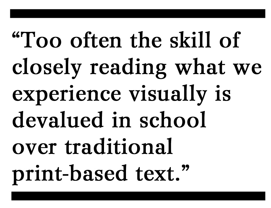 Close Reading + Visual Literacy=Pathways for Understanding