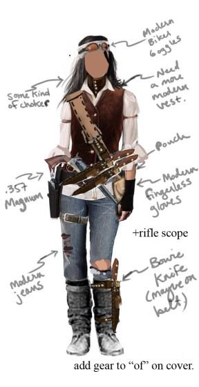 costume concept mockup