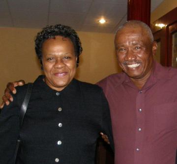 Moses Teel Jr. and his wife, Pauline Teel