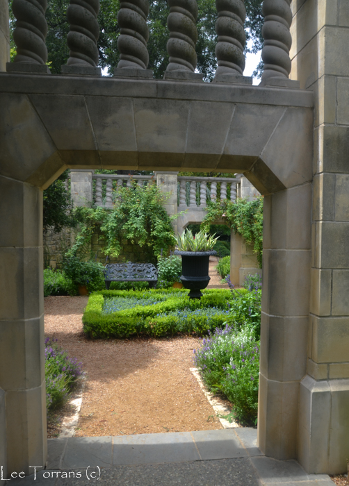 Poetry Garden Dallas Arboretum