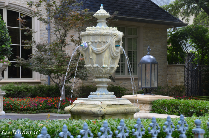 Fountains in Dallas Landscaping Design.