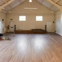 Floor Restoration Village Hall Lee Chapel Floors Essex