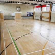 Floor Restoration Sports Hall Lee Chapel Floors Essex 4