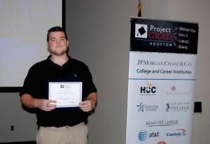 Scholarship Winner Robert Bird