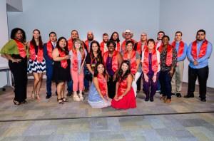 Lee College's first Weekend College graduation event held in Rundel Hall, 05/07/17