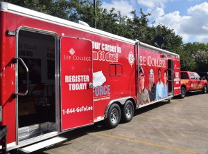 Lee College Mobile Go Center