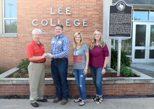Lee College Hurricane Harvey Relief Fund receives donation from ExxonMobil
