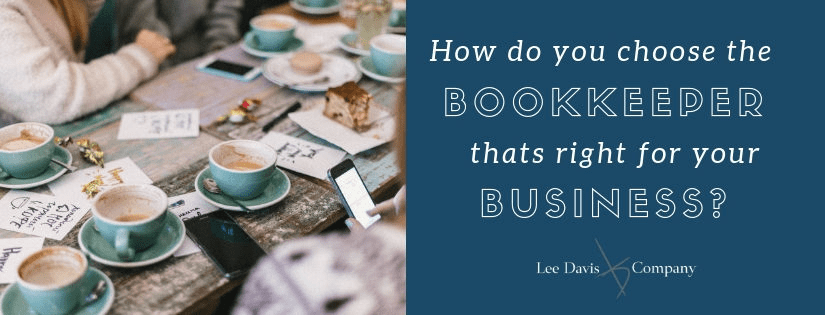 choose the right bookkeeper