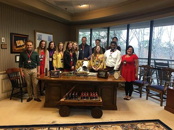 LHS Diplomats Tour ChickfilA Headquarters in Atlanta  Leeds Area