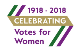 1918-2018 celebrating votes for women