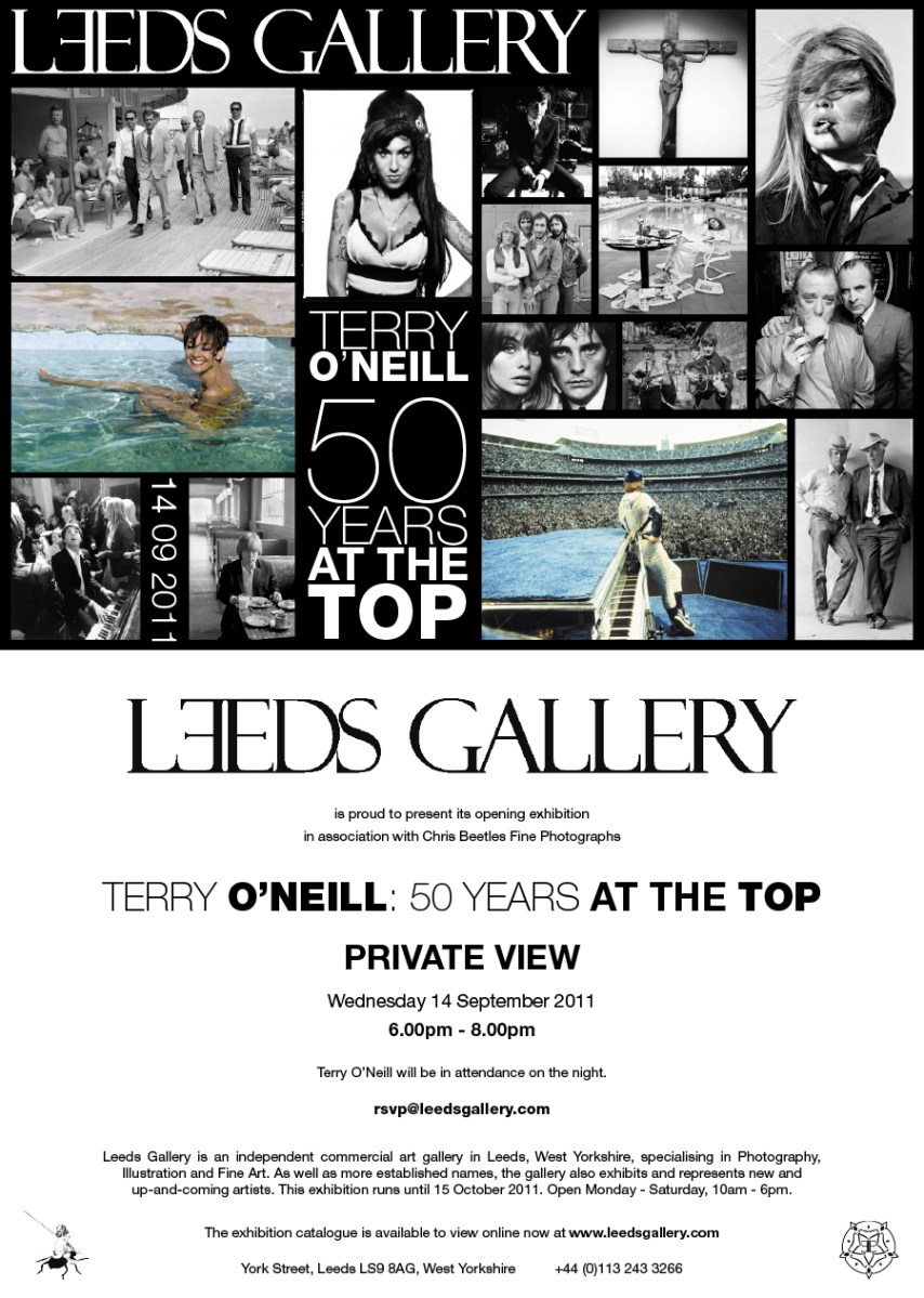 Terry O'Neill at The Gallery at Munro House