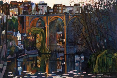 Mark Sofilas, Sunrise on the Nidd (Yorkshire Artists Part I)