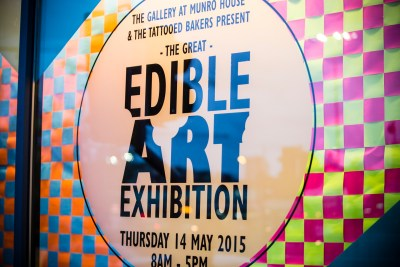 The Great Edible Art Exhibition, 14 May 2015
