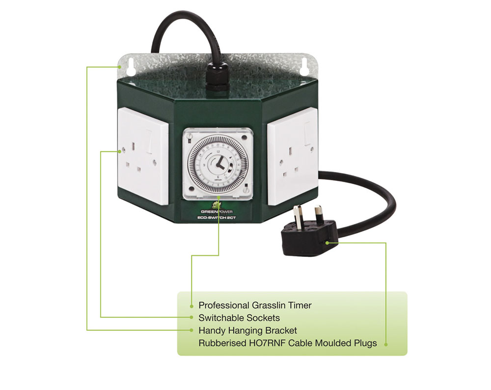 The Green Power 2 way Professional contactor and timer