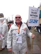 Slient Witness to destruction of NHS campaigner