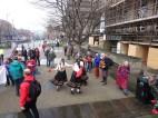 folk dancing campaigners