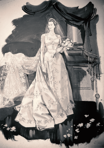 Princess Elizabeth's Wedding Dress
