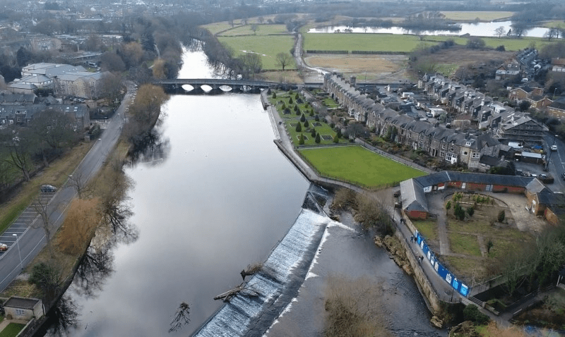 River Wharfe at Otley