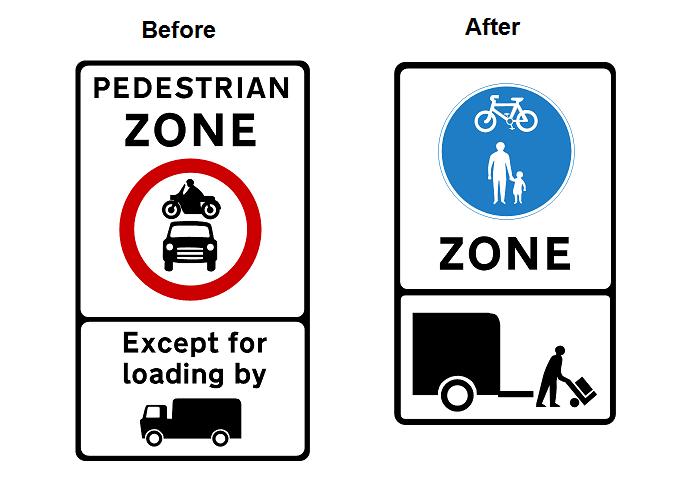 Pedestrian Zone Leeds