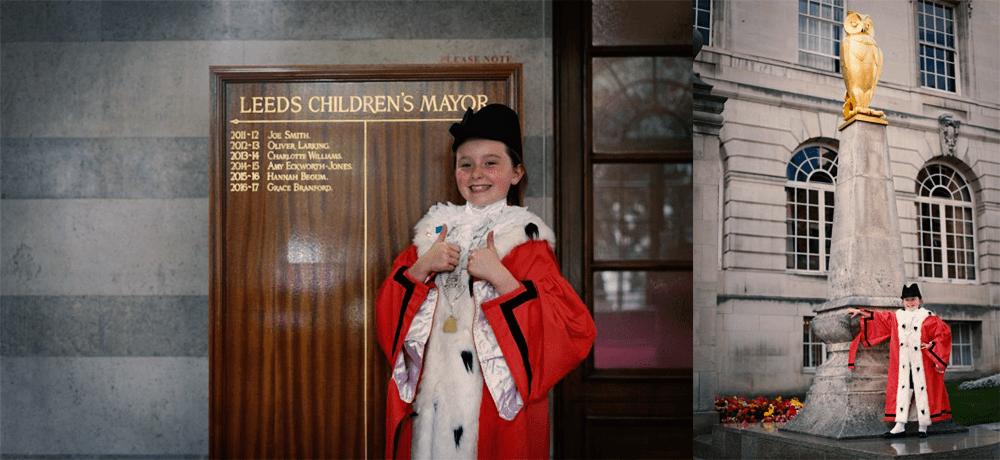 Grace Branford, Leeds Children's Mayor