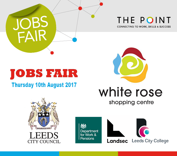 Jobs Fair White Rose Shopping Centre