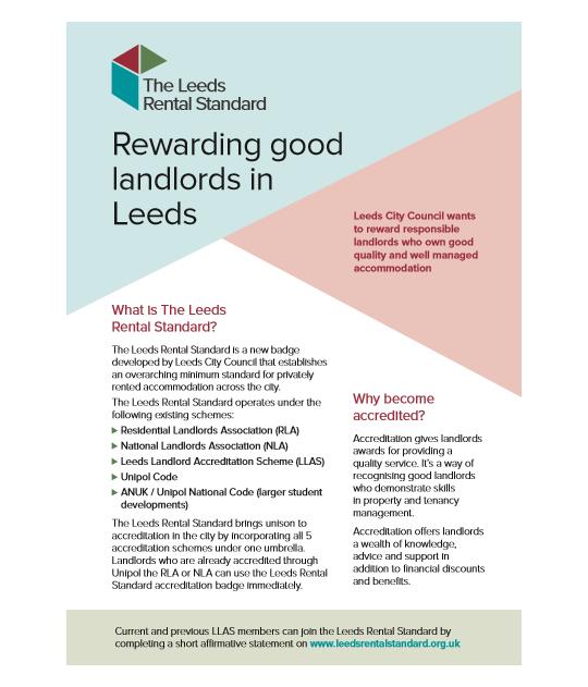 Leeds Rental Standard