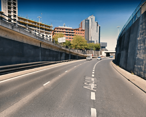 A64(M) Slip Road Crossing and New York Road Tunnel Leeds
